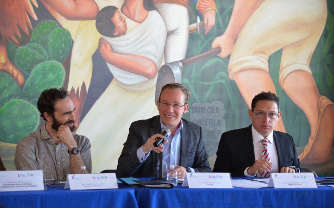 Instala Benito Juárez Consejo Asesor de Movilidad y Seguridad Vial