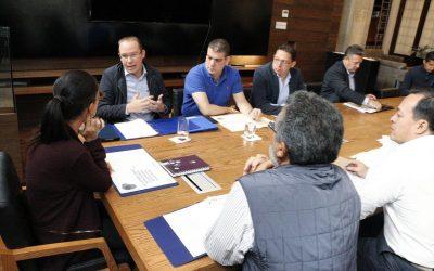 Benito Juárez sostiene reunión con Gobierno de la Ciudad para coordinar acciones de abastecimiento de agua durante estiaje