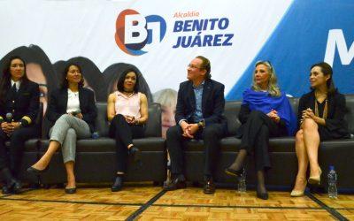 El empoderamiento de la mujer es una realidad en Benito Juárez