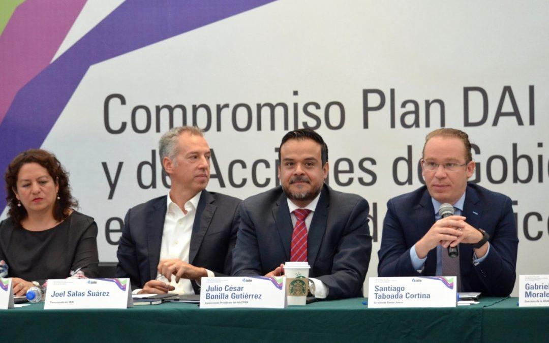 Transparencia total en Benito Juárez: Santiago Taboada