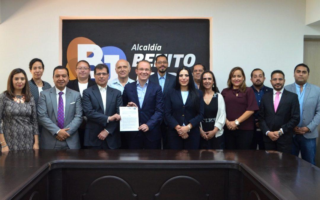 Alcaldía firma alianza para dignificación de la labor policial en Benito Juárez
