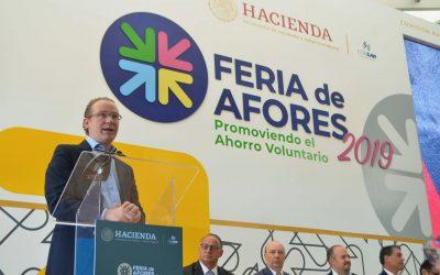 Inicia Feria de Afores 2019 en la Alcaldía Benito Juárez