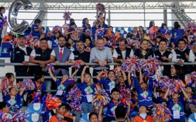 """""""Benito Juárez será punta de lanza en la Ciudad de México en materia deportiva"""": Santiago Taboada"""