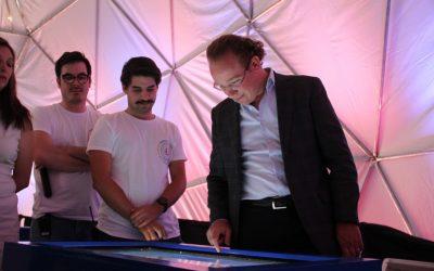 Alcalde Santiago Taboada inaugura Distrito Digital Benito Juárez para jóvenes