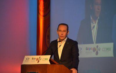 """""""El dinero invertido en la Ciudad de México genera empleo, es un dinero que va a estar bien invertido"""": Santiago Taboada"""