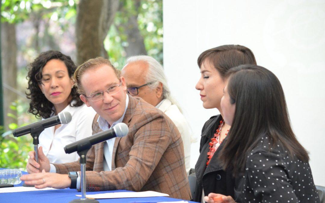 """Santiago Taboada, alcalde en Benito Juárez, anuncia el programa """"Blindar tu Parque"""""""