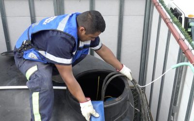 Abastece Alcaldía Benito Juárez a vecinos de la Del Valle con agua de captadores de lluvia instalados en sus edificios