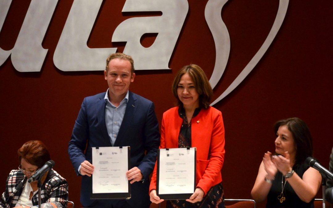 Alcaldía y Colegio de Arquitectos firman convenio para ordenar el desarrollo urbano en Benito Juárez
