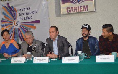 Anuncia alcalde Santiago Taboada 5ta Feria Internacional del Libro Benito Juárez 2019