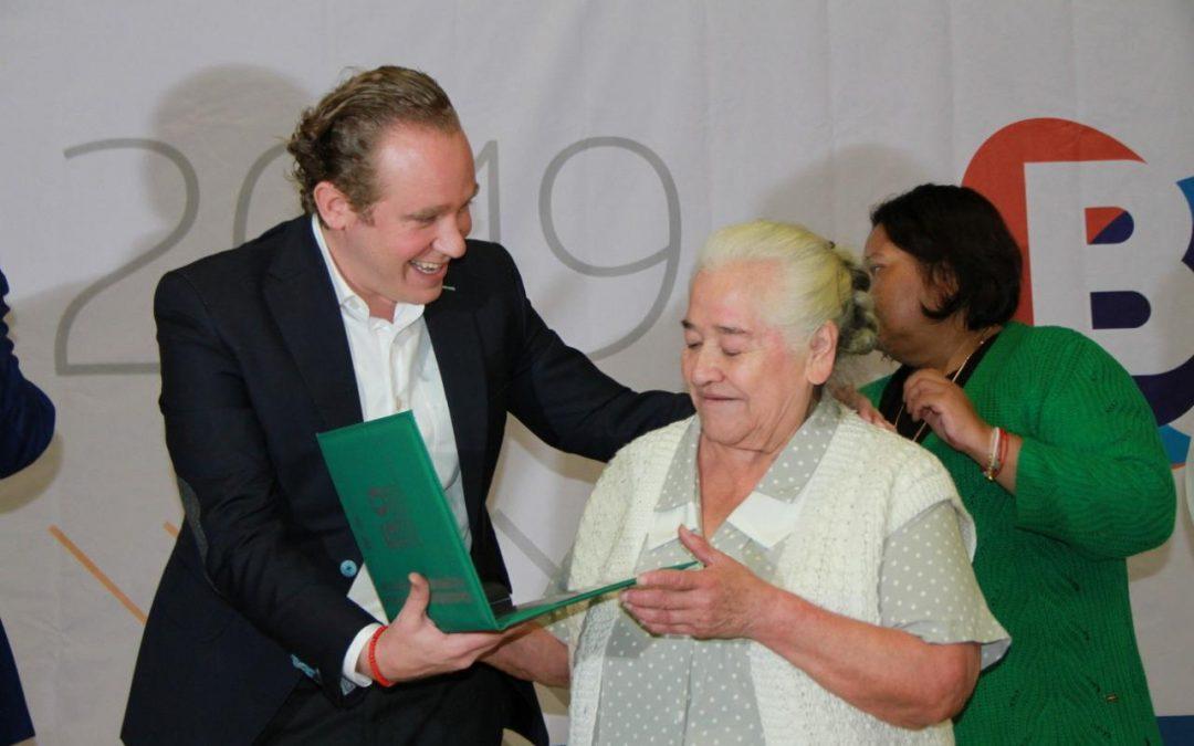 Reconoce alcalde Santiago Taboada a trabajadores de Benito Juárez