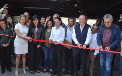 Alcalde Santiago Taboada y Gobierno de la CDMX entregan edificios reconstruidos por el 19-S